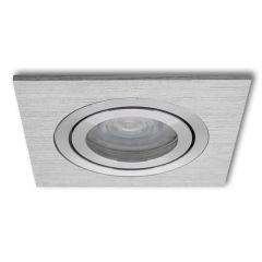 LED Inbouwspot Arona vierkant aluminium