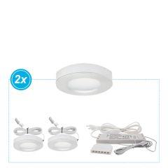 LED keukenverlichting onderbouw Amora set van 2