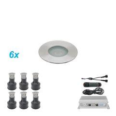 Ori Grondspots LED Set 6 stuks 1 Watt