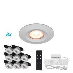 LED Verlichting Overkapping Carpus Set 8