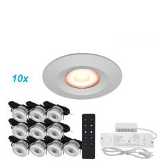 LED Verlichting Overkapping Carpus Set 10