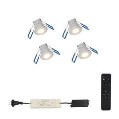 LED Verlichting Overkapping Monno Set 4