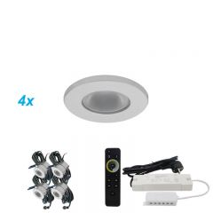 LED Verlichting Overkapping Monno Set 4