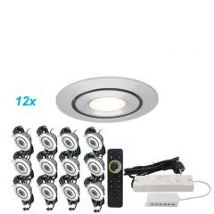 LED Verlichting Overkapping Mura Set 12