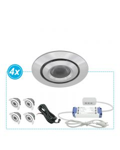 LED Inbouwspots set Mura 4