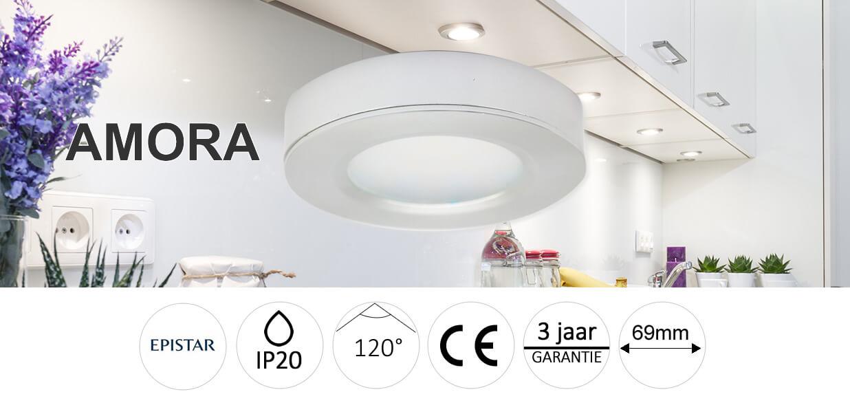 Keuken led onderbouw amora